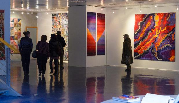 Exposition - Partitions Textiles de Sabine CIBERT - 12 au 23 Février 2013