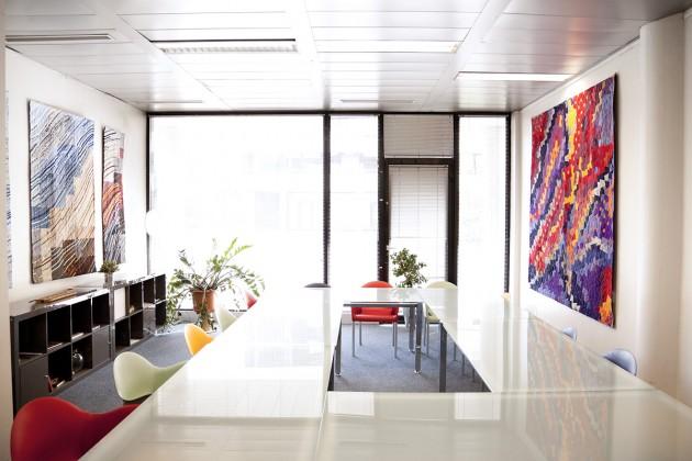 Abyss et Transition dans la salle de réunion
