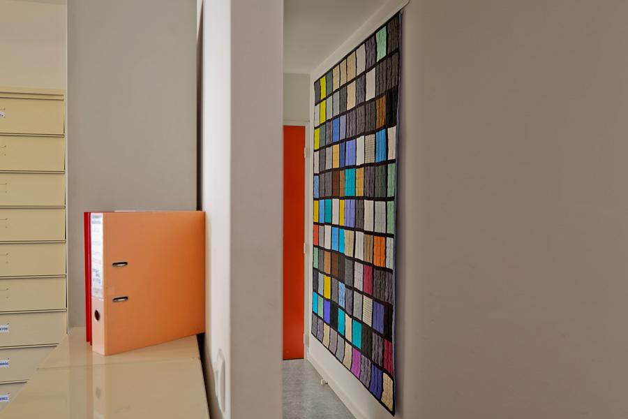Sabine Cibert; art textile; un itinéraire grand format; art contemporain;