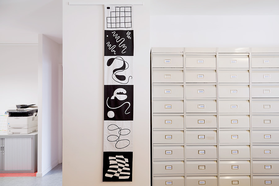 Sabine Cibert ; art textile; art contemporain; un itinéraire grand format.