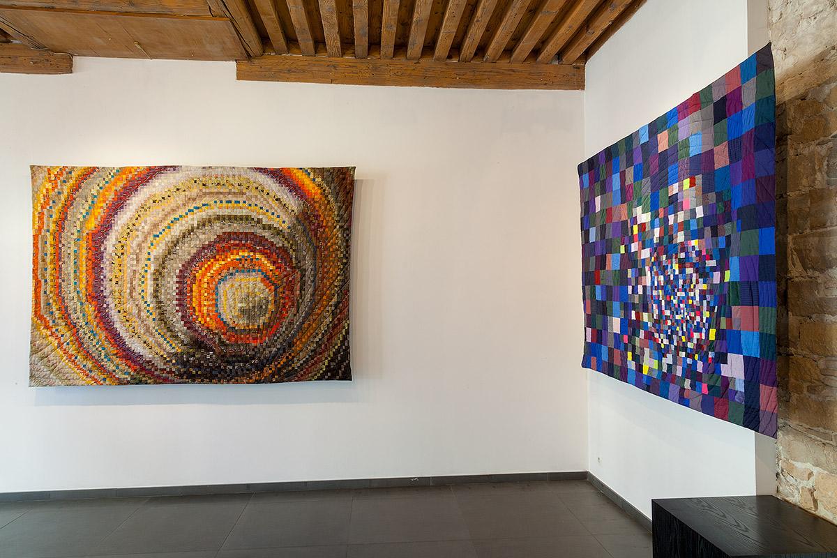 en Résonance avec la Biennale de Lyon 2017art textile, sabine cibert, art contemporain, Showroom Galerie 7 art textile grands formats, exposition émergences