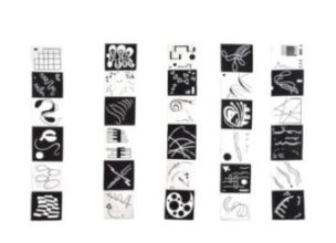 Art textile, sabine cibert, Art contemporain, Toiles grands formats, Itinéraire grand format, partitions textiles,